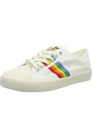Gola Coaster Rainbow Weave damskie buty typu sneaker, - Pearl Pink Multi - 39 eu