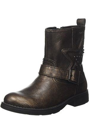 Geox Dziewczęce buty Jr Sofia C Biker Boots, - brąz - 30 EU