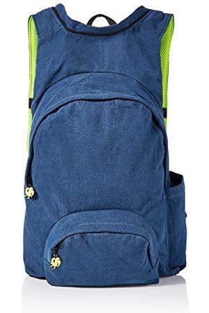 Morikukko Uniseks - dorosły plecak z kapturem podstawowy dżins plecak (Basic Denim)