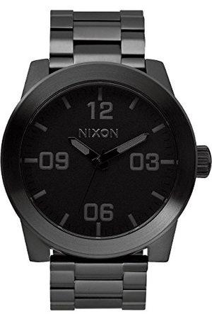 Nixon Zegarek na rękę Corporal Stal nierdzewna jeden rozmiar All Black