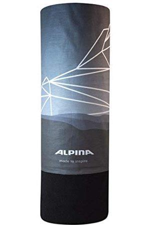 Alpina Unisex Fleece szal wielofunkcyjny, Grey-Blue, rozmiar uniwersalny