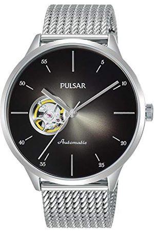 Seiko Męski analogowy zegarek kwarcowy z bransoletką ze stali nierdzewnej 1