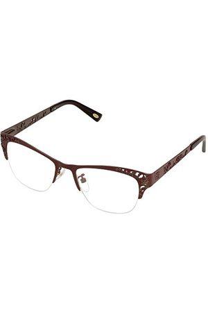 Loewe Unisex dla dorosłych VLW444M510A57 oprawki okularów, brązowe (Shiny Brown), 55