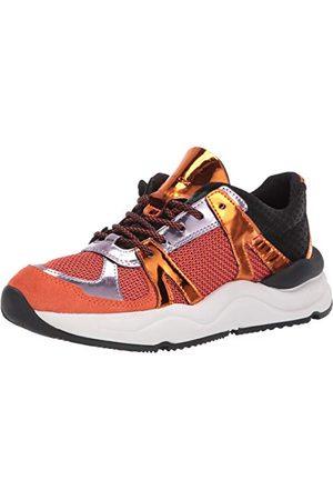 Geox D Topazio A damskie buty sportowe, pomarańczowa - Orange Orange Dk Orange C2t7l - 40 EU