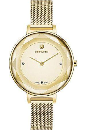 Swiss Military Hanowa Uniseks dla dorosłych analogowy zegarek kwarcowy z bransoletką ze stali szlachetnej 16-9078.02.002