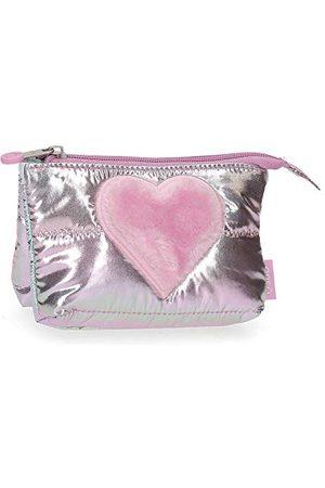 Enso Fancy portfel różowy 14x10x3,5 cm poliester