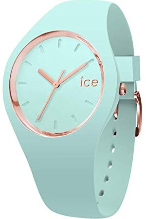 Ice-Watch Ice Glam Pastel Aqua - zielony zegarek damski z silikonowym paskiem Taśma Medium /