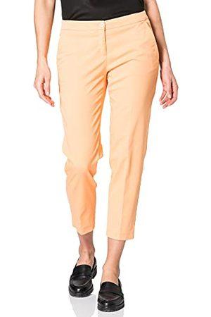 Brax Damskie spodnie dresowe Maron, jasnopomarańczowe, 48K