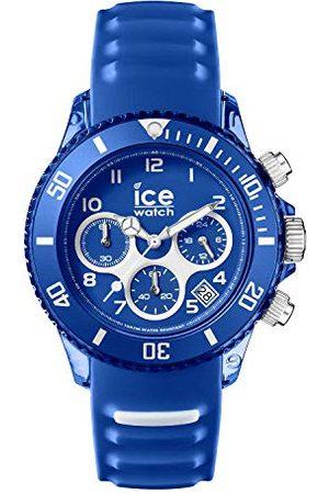 Ice-Watch Ice Aqua Marine - zegarek męski z silikonowym paskiem - Chrono Taśma Medium