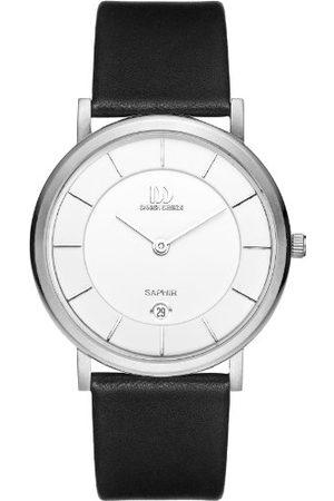 Danish Design Męski analogowy zegarek kwarcowy ze skórzanym paskiem IQ12Q898