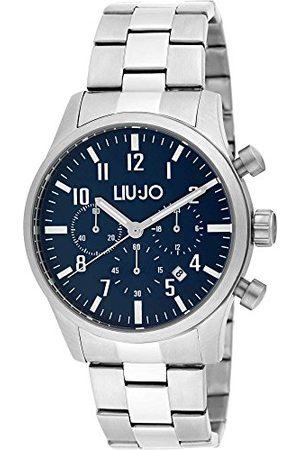 Liu Jo Męski chronograf kwarcowy zegarek z bransoletką ze stali szlachetnej LJW-TLJ1235