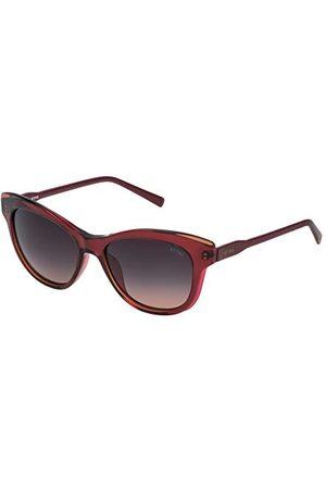Sting Męskie SST010530AGW okulary przeciwsłoneczne, czerwone (Burdeos), 53.0