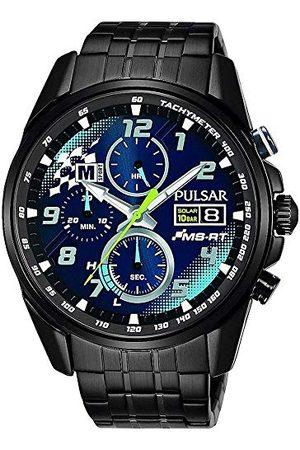 Pulsar Mężczyzna Zegarki - Zegarek kwarcowy z bransoletką ze stali szlachetnej 8431242968971