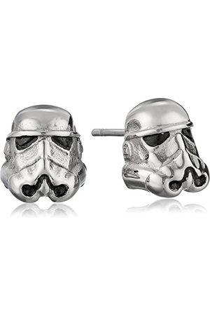 STAR WARS Unisex 3D Storm Trooper Kolczyki ze stali nierdzewnej