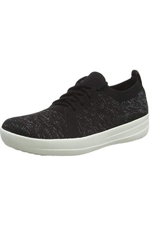 FitFlop Damskie buty sportowe Uberknit Low Top, Wielokolorowa metaliczna złota Urban White 566-36.5 EU