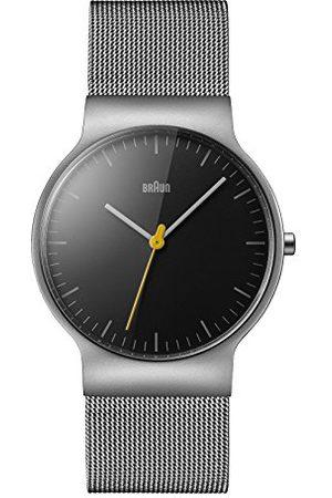 von Braun Unisex zegarek na rękę analogowy kwarcowy stal szlachetna BN0211BKSLMHG