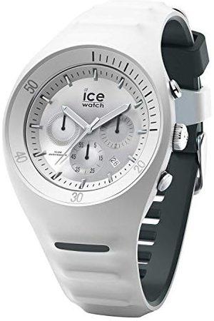 Ice-Watch P. Leclercq White - zegarek męski z silikonowym paskiem - Chrono - 014943 (Large)