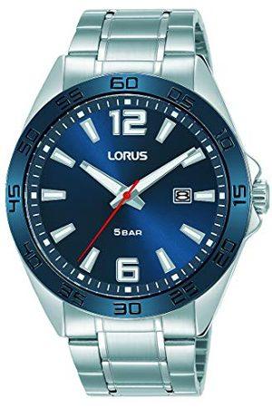 Lorus Sportowy zegarek męski z nakładką węglika tytanu i metalowym paskiem RH913NX9