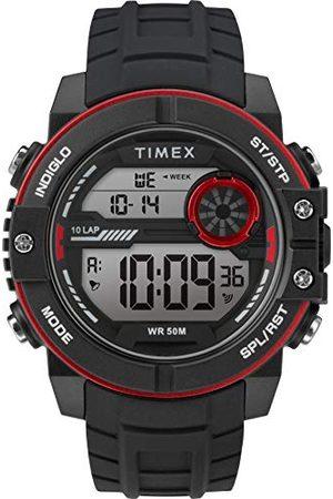 Timex Męski zegarek mechaniczny z silikonowym paskiem TW5M34800