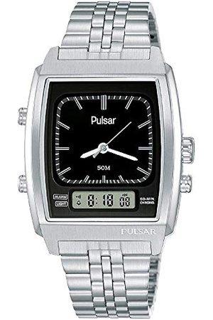 Pulsar Zegarek kwarcowy z bransoletką ze stali szlachetnej 8431242963839
