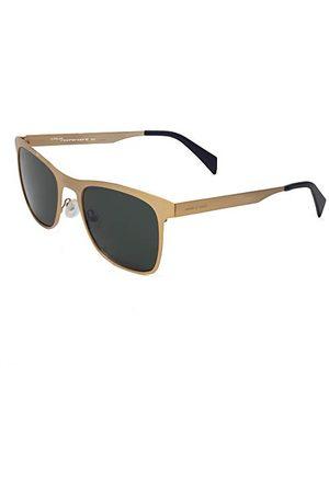 Italia Independent Unisex dla dorosłych 0024-120-120 okulary przeciwsłoneczne, złote (Dorado), 53