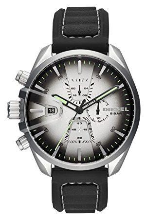 Fossil Diesel męski chronograf zegarek kwarcowy Taśma jeden rozmiar 2t Silver/Black