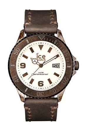Ice-Watch Męski zegarek na rękę XL Vintage brąz analogowy kwarcowy skóra VT.BN.BB.L.13