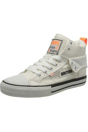 British Knights Roco Tag Sneaker damskie buty sportowe, White Neon Orange - 42 EU
