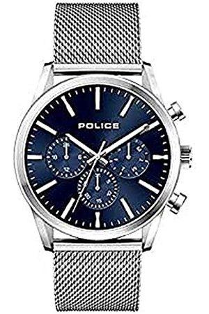 Police Męski analogowy zegarek kwarcowy z bransoletką ze stali szlachetnej 1