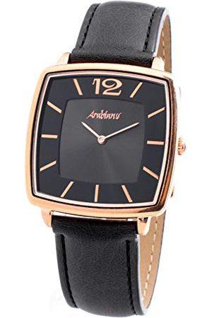ARABIANS Męski analogowy zegarek kwarcowy ze skórzanym paskiem HBA2245B