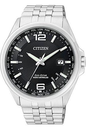 Citizen Męski analogowy kwarcowy zegarek z bransoletką ze stali szlachetnej CB0010-88E