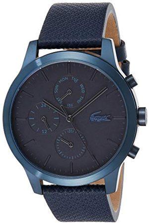 Lacoste Męski wielofunkcyjny zegarek kwarcowy ze skórzanym paskiem 2010998
