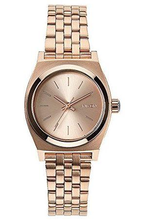 Nixon Kobieta Zegarki - Damski zegarek na rękę XS Small Time talerz analogowy kwarcowy stal szlachetna A399897-00