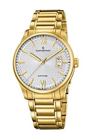 Candino Męski data klasyczny zegarek kwarcowy z bransoletką ze stali szlachetnej C4692/1