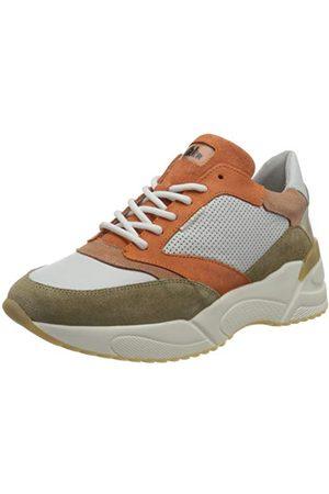 Bullboxer Damskie buty typu sneakers 750010e5c, biały - Orange Multi - 38 EU
