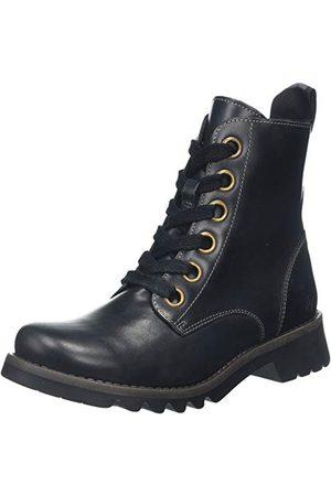 Fly London Kobieta Kozaki - Damskie buty Ragi539fly z krótką cholewką, czarne (Black 003), 38 EU