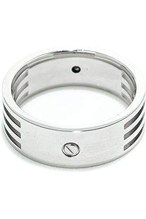 Xenox X1481-60 męski pierścionek ze stali, kolor srebrny, rozmiar 60