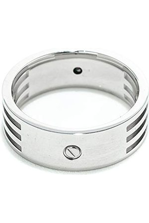 Xenox X1481-62 męski pierścionek ze stali, kolor srebrny, rozmiar 62