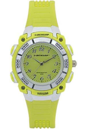 Dunlop Unisex dla dorosłych analogowy zegarek kwarcowy z gumową bransoletką DUN243L12