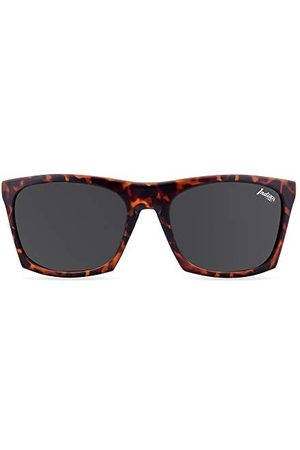THE INDIAN FACE Okulary przeciwsłoneczne - Unisex Barrel okulary przeciwsłoneczne dla dorosłych, zielone (tortoise), 55