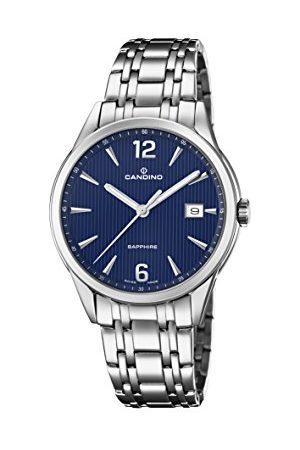 Candino Męski data klasyczny zegarek kwarcowy z bransoletką ze stali szlachetnej C4614/3