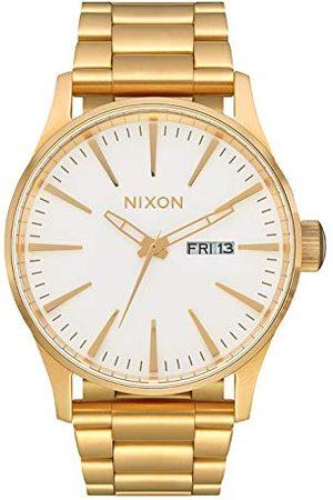 Nixon Damski analogowy zegarek kwarcowy z bransoletką ze stali szlachetnej A356-508-00