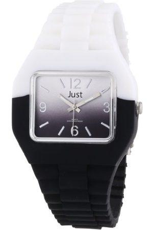 Just Watches Unisex zegarek na rękę analogowy kauczuk 48-S6501-WH-BK