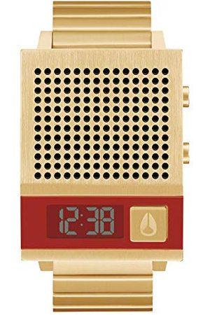 Nixon Męski zegarek cyfrowy z paskiem ze stali nierdzewnej A1266-502-00