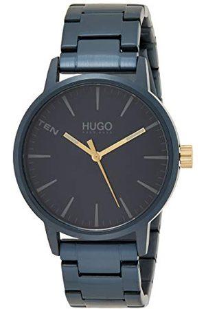 HUGO BOSS Męski analogowy zegarek kwarcowy z paskiem ze stali nierdzewnej 1530141