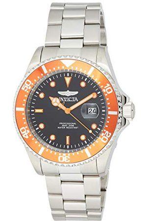 Invicta 22022 Pro Diver męski zegarek stal szlachetna kwarcowy czarny cyferblat