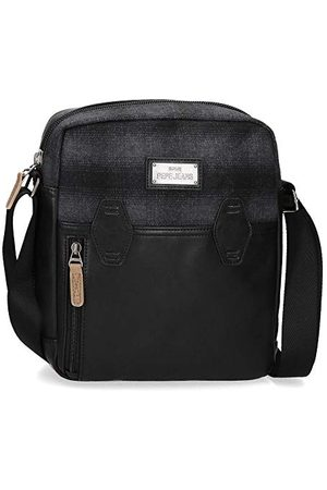 "Pepe Jeans Scotch torba na ramię czarna 23 x 27 x 7 cm poliester i PU Portatablet 9,7"""