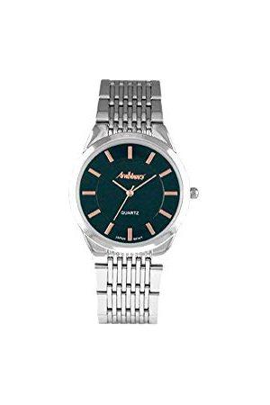 Arabians Męski analogowy zegarek kwarcowy z bransoletką ze stali szlachetnej DAP2193N