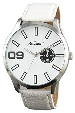 ARABIANS Męski analogowy zegarek kwarcowy ze skórzanym paskiem HBA2111W