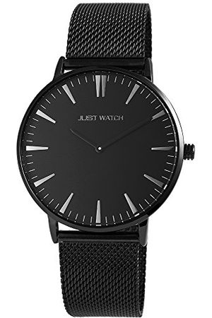 Just Watch Męski analogowy zegarek kwarcowy z bransoletką ze stali szlachetnej JW20004-020